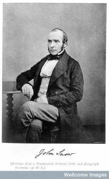 M0009238 John Snow, 1856.